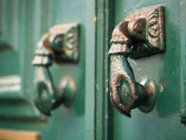 metal door handles in Bairro Alto