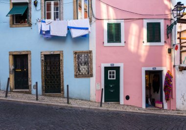 Architecture in the Old Town of Lisbon