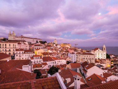 Cityscape of Lisbon from Portas do Sol