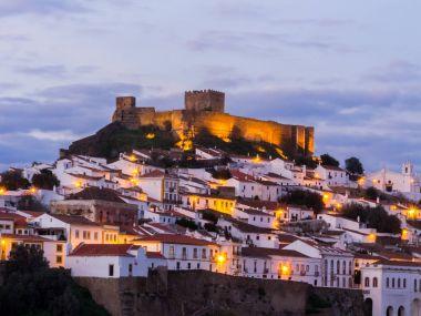 Mertola in south Portugal