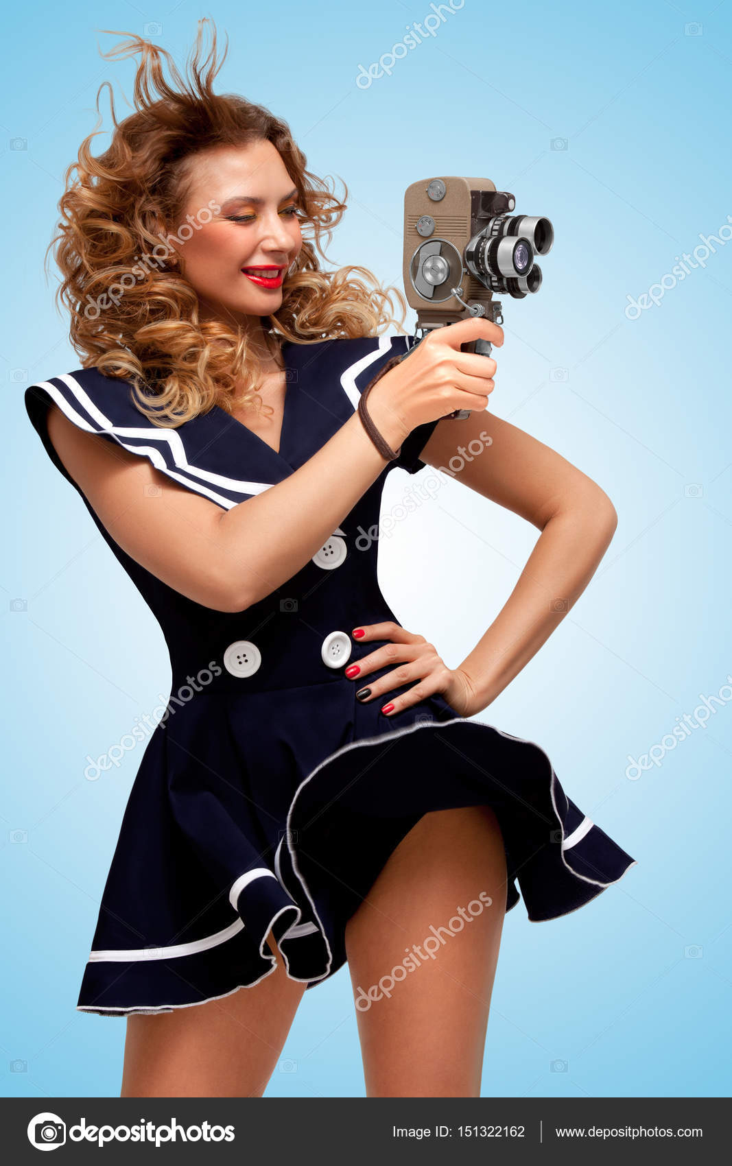 Vintage Pin Up Sailor