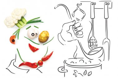 Creative food concept