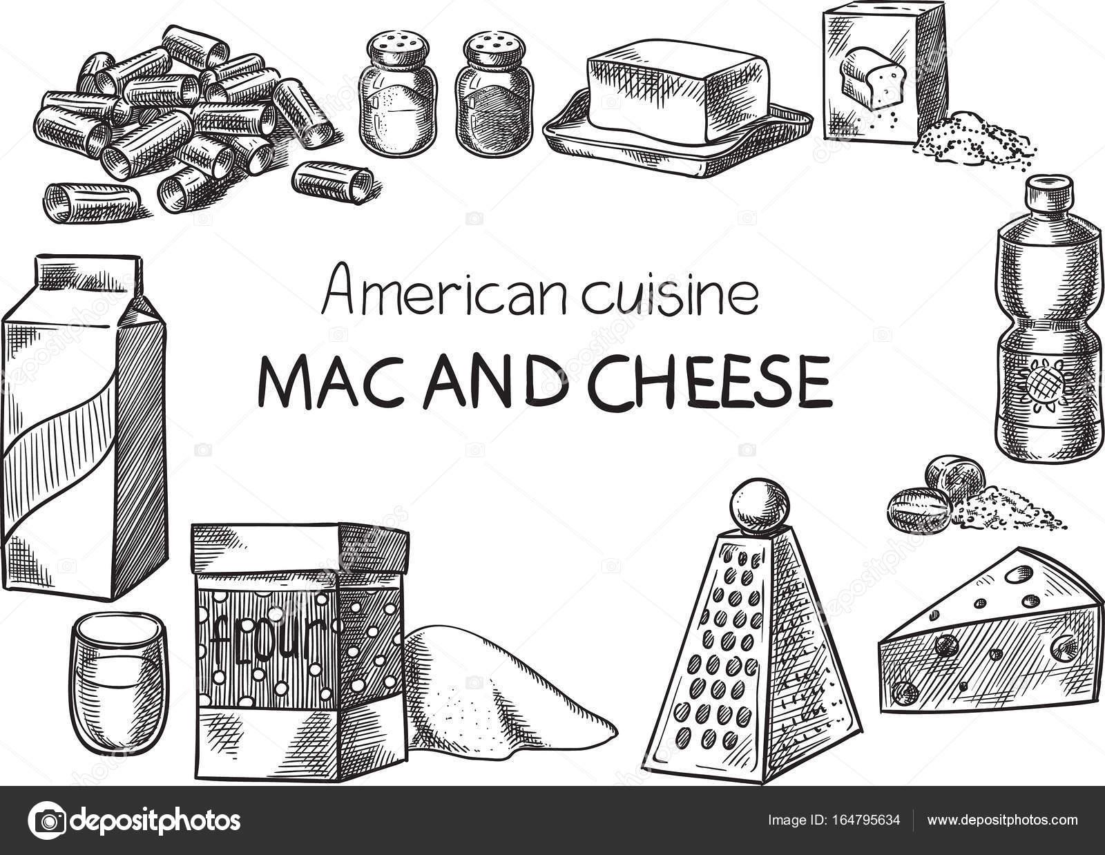 Cozinha Americana Vector Conceitual Criativo Desenho De Ilustra O