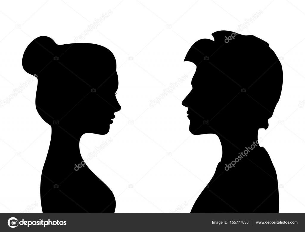siluetas de hombres y mujeres frente a otro  vector aislado vector de stock  u00a9 cosmosquirrel african american women clipart fabolous african american women clipart free