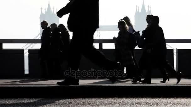 Londýnské dopravní špičce dojíždějících
