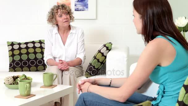 Incoraggiamento da un terapista al suo paziente