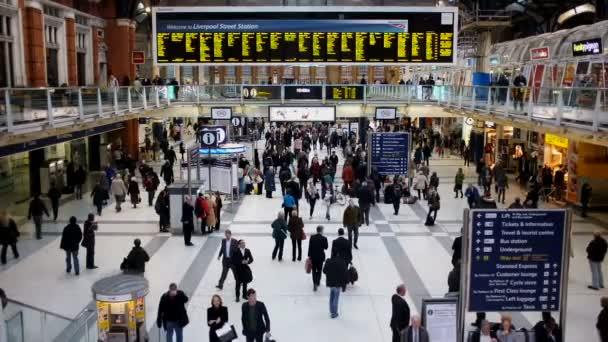 Vlakové nádraží Liverpool Street, Londýn, Velká Británie