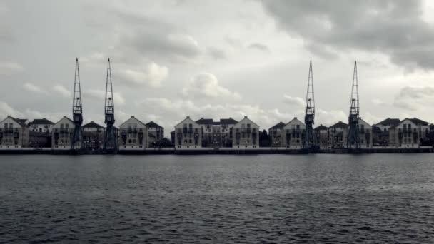 Městská krajina London Docklands