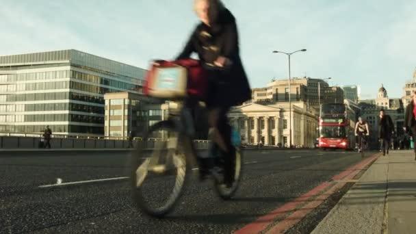 London közlekedési csúcsforgalom