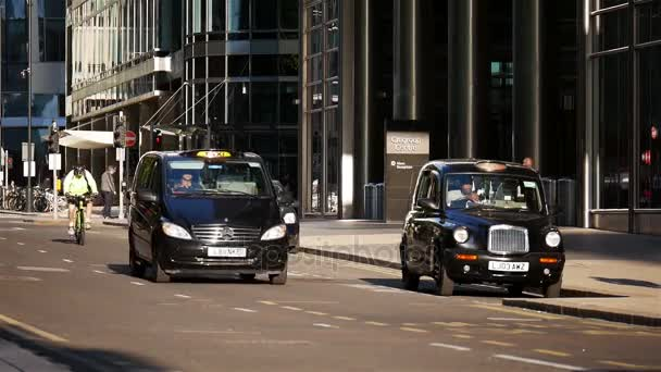 London City schwarze Taxis