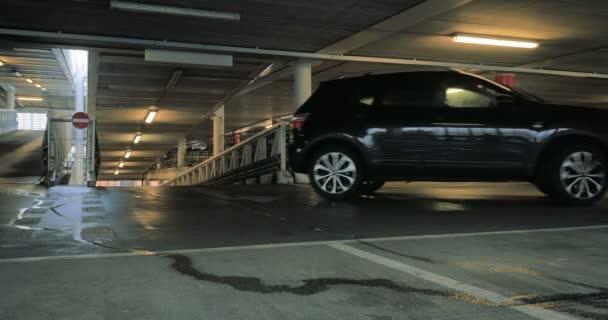 Multi-storey Car Park: cars entering a car parking site