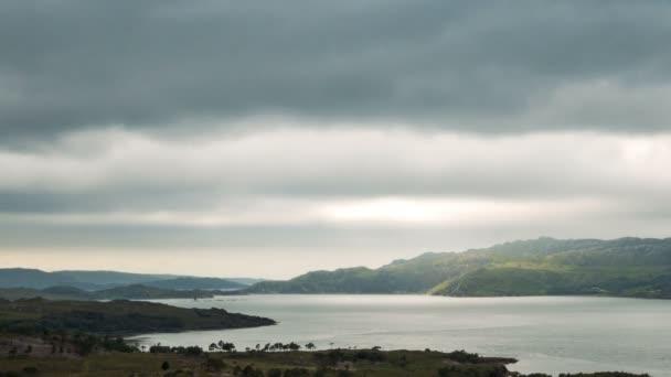Loch Torridon a skotské vysočiny, Skotsko; časová prodleva