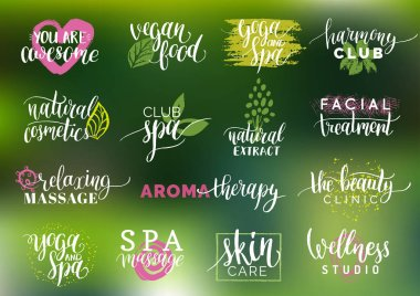 health and beauty care logos