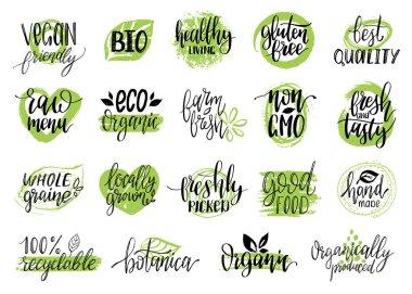 organic logos or signs