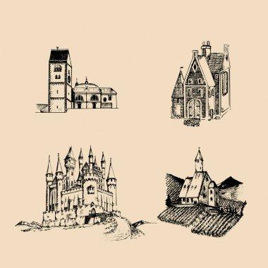 medieval landscapes set
