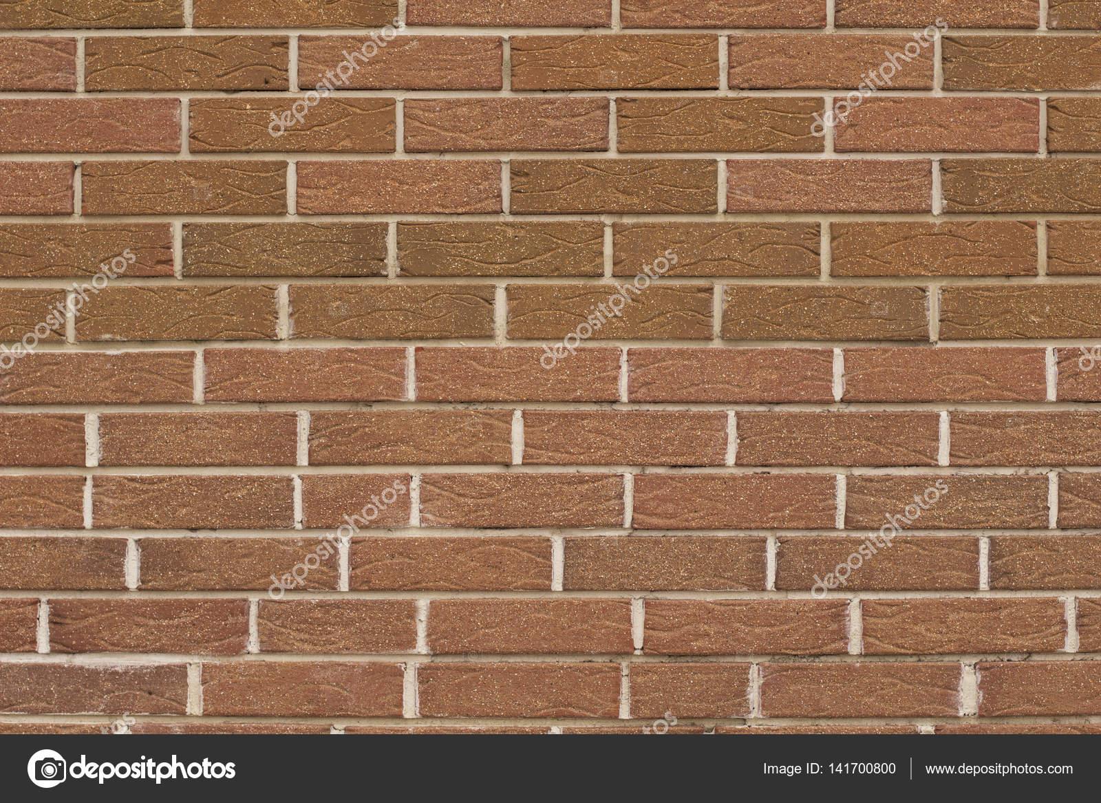 Texture De Mur De Brique Décorative Rouge U2014 Photo