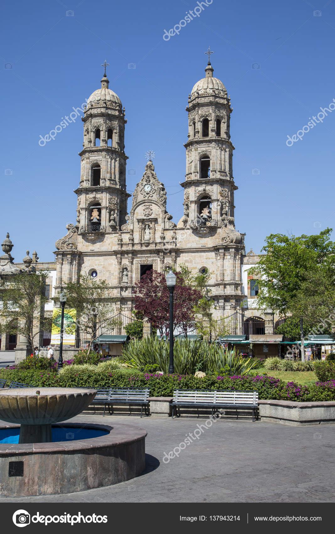 Denkmäler Von Guadalajara Jalisco Mexiko Basilika De Zapopan