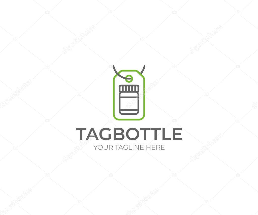 Großzügig Flaschen Tag Vorlage Zeitgenössisch - Beispiel ...
