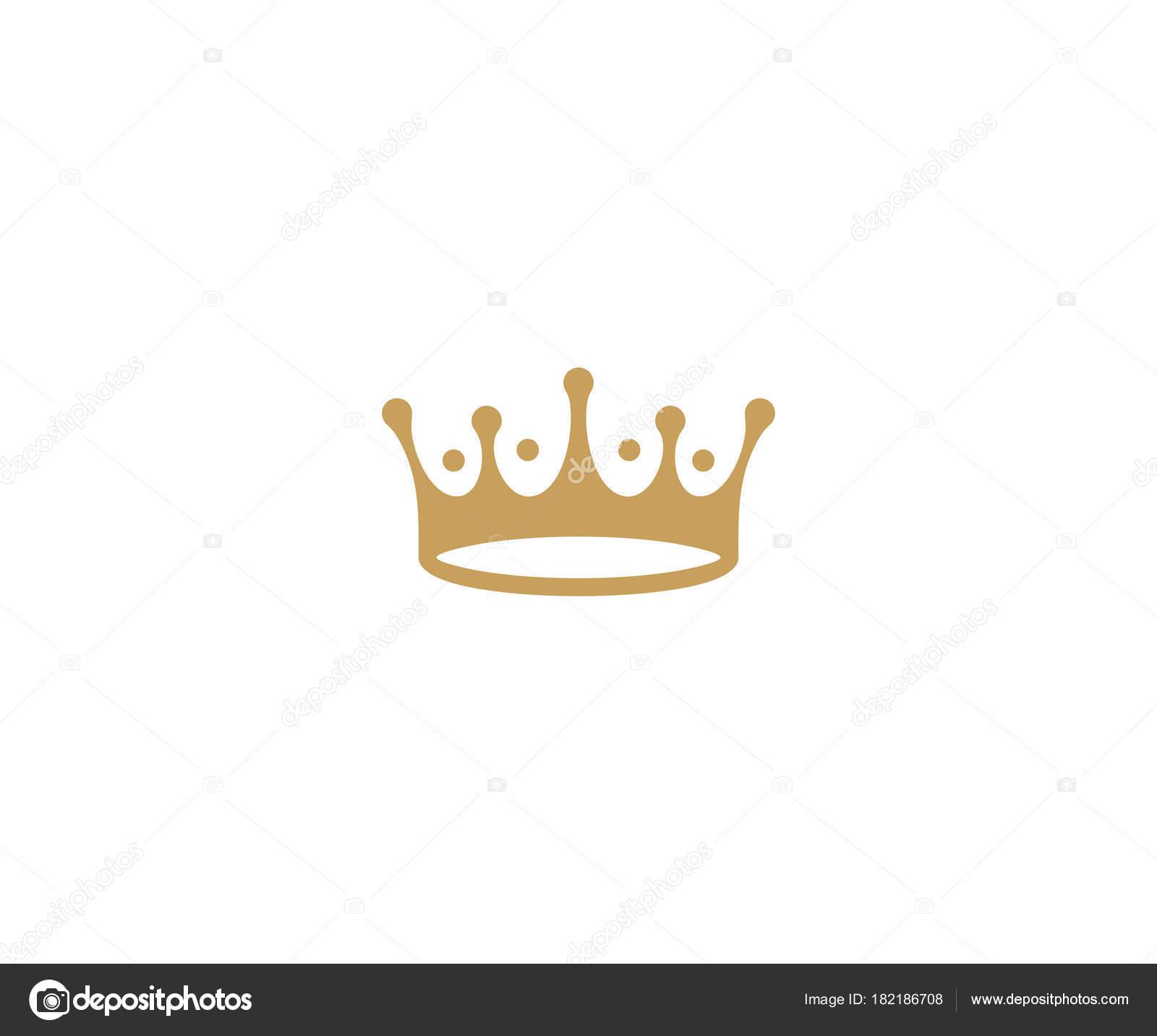 Plantilla Logotipo Corona Diseño Del Vector Del Sombrero Del Rey ...
