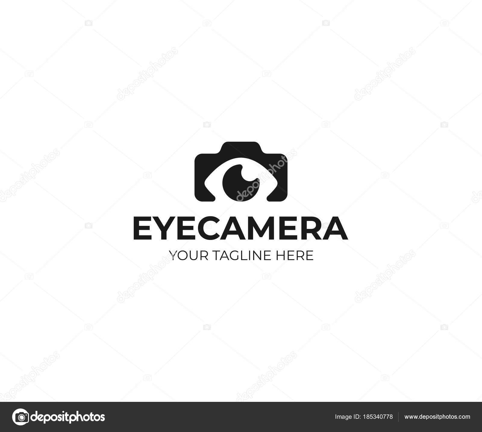 Photography Logo Template Photo Camera Eye Vector Design ...