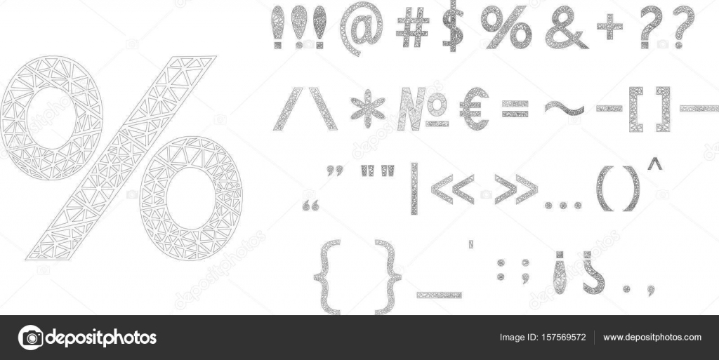 Punctuations marks sings vector triangle design stock vector punctuations marks sings vector triangle design vector by maria buycottarizona Choice Image