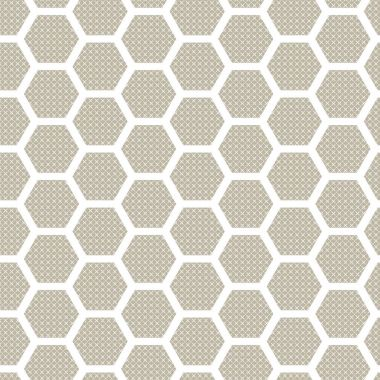 Hexagon seamless patter. Abstract background.