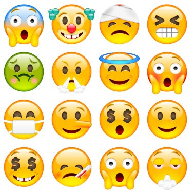 classic Emoticons set