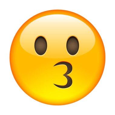 Kissing Emoticon icon