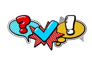 quiz vintage badge logo