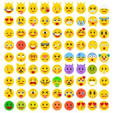 Set of Emoji icons
