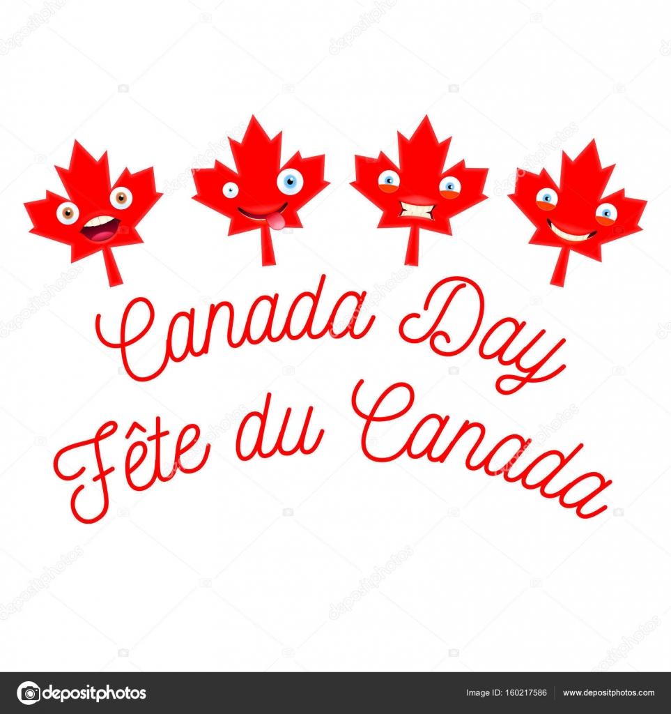 Canadá feliz día plantilla — Vector de stock © ober-art #160217586