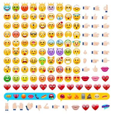 Set of Emoticons. Set of Emojis