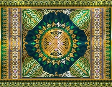 Kazakh ornament, wedding tradition, jewelry, Swarovski crystals, Kazakh jewelry, oriental ornaments, carpet, Kazakh pattern, Kazakh background oriental background,Islamic symbol, Islamic symbol pattern of the mosque, decorations for interiors, kazakh