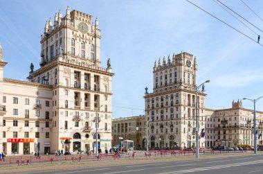Privokzalnaya square (Gates of Minsk), Minsk, Belarus