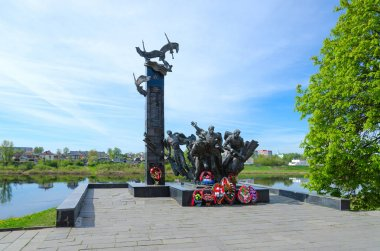 Monument to 23rd Warriors-Guardsmen, Polotsk, Belarus