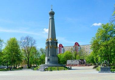 Monument to heroes of Patriotic War of 1812, Polotsk, Belarus
