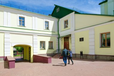 Polotsk State University, Faculty of Information Technologies (complex of buildings of former Jesuit collegium), Belarus