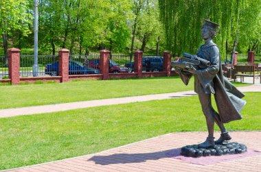 Monument to Polotsk student, Polotsk, Belarus