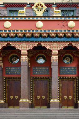 St. Petersburg Buddhist temple Datsan Gunzehoyney, Russia