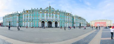 State Hermitage Museum (Winter Palace), Palace Square, St. Petersburg, Russia