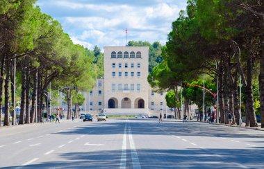 Polytechnic University of Tirana, boulevard of Martyrs, Albania