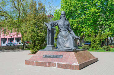 Monument to Simeon of Polotsk, Polotsk, Belarus