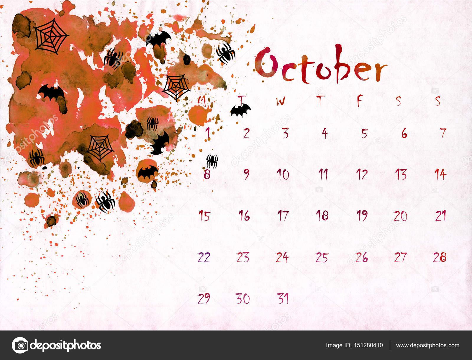 calendario 2018 para imprimir por mes