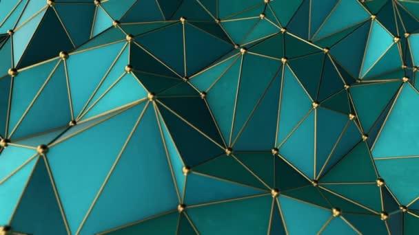 posun digitálního fraktálního geometrického povrchu
