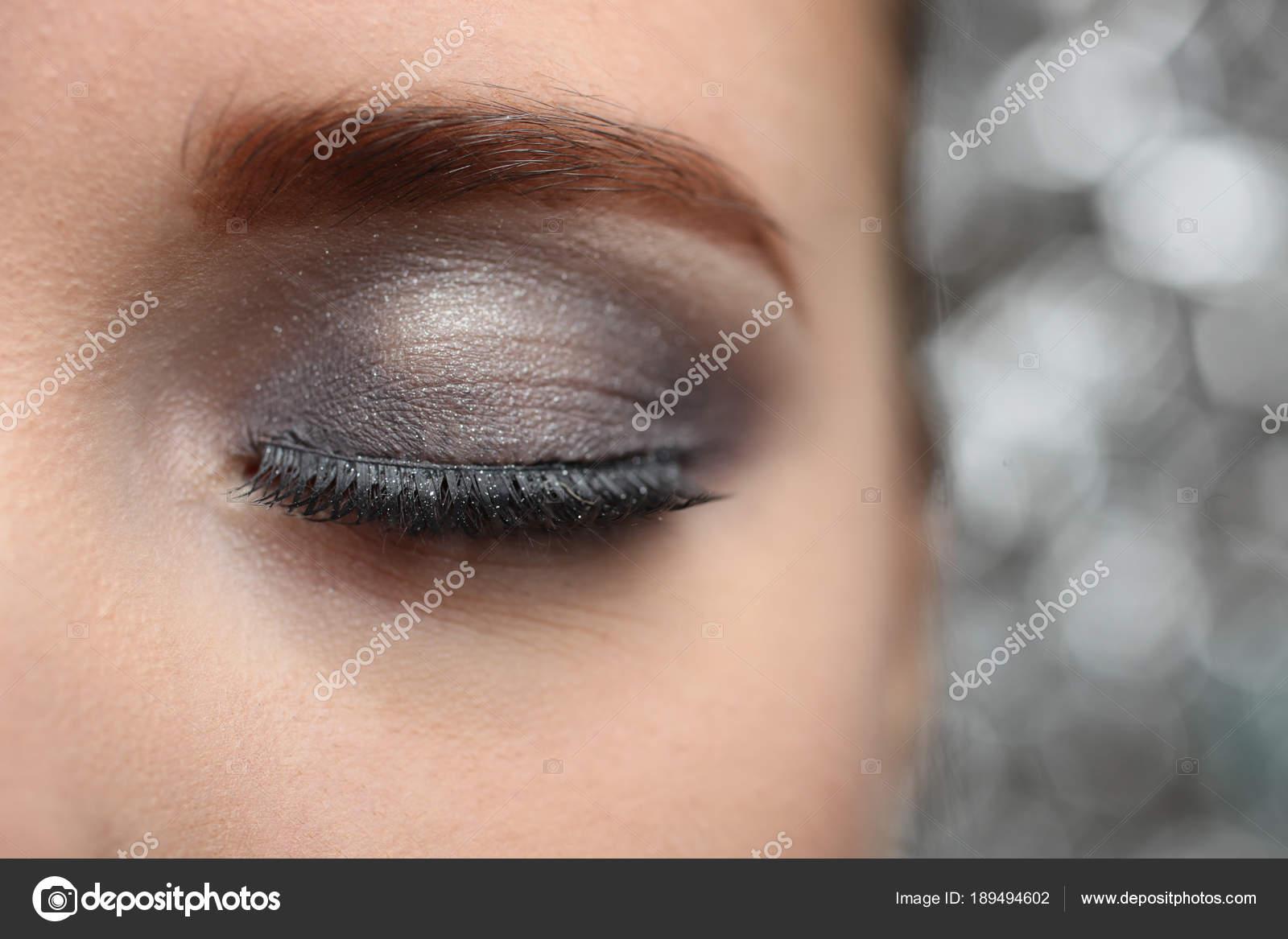 Imágenes Ojos Bonitos Maquillaje De Ojos Hermosos Foto De Stock