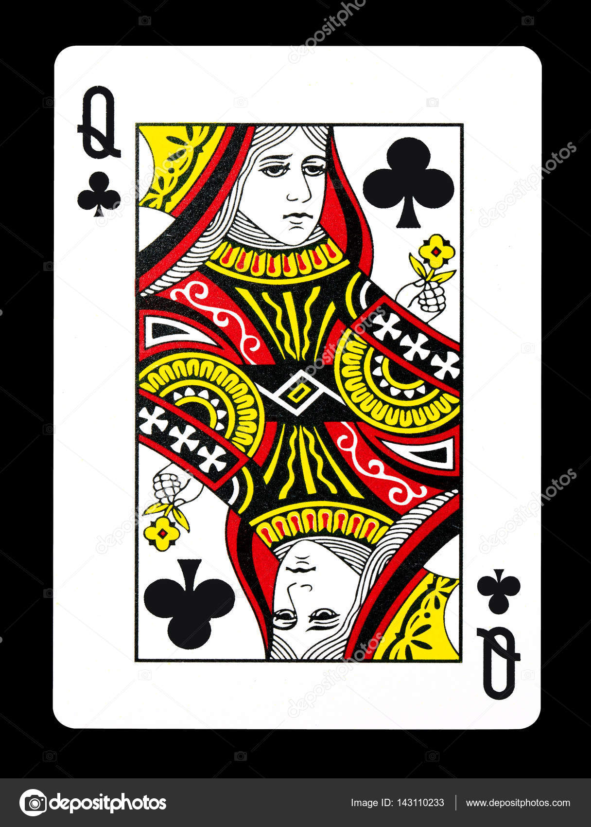 Queen of Clubs - Bing images