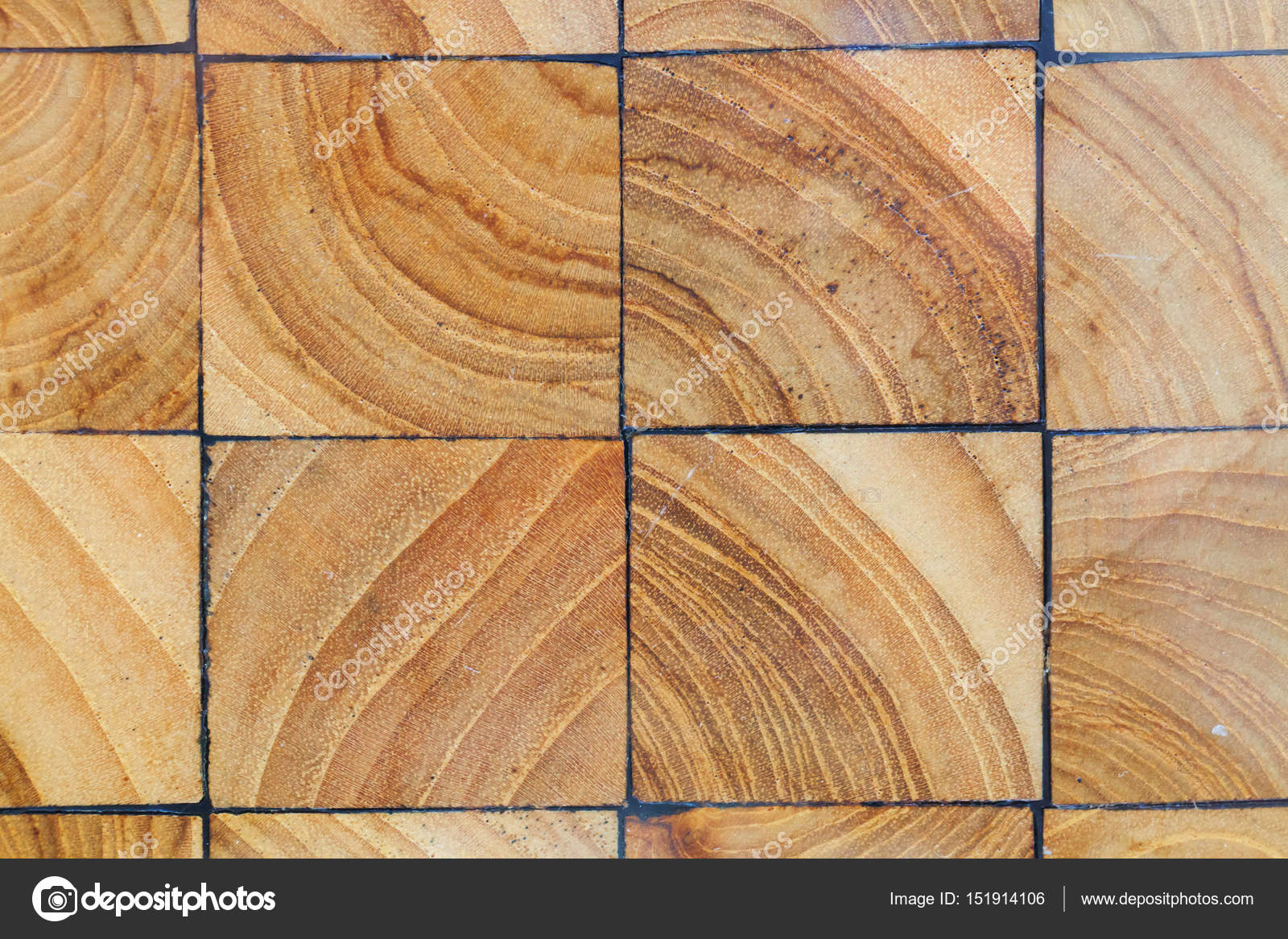 wood blocks pavement texture abstract natural wooden background stock photo