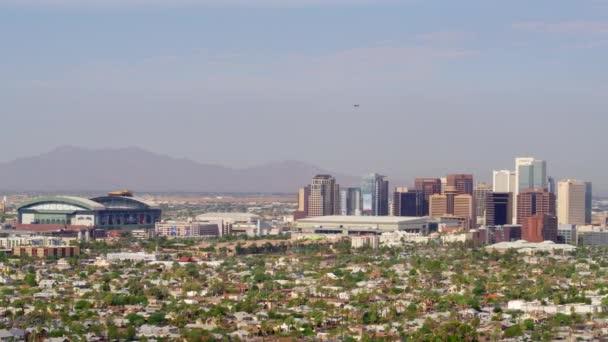 Phoenix városképe és stadionja
