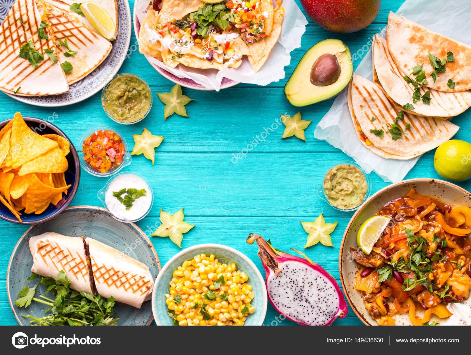 Fondo De Comida Mexicana: Origen De La Comida Mexicano