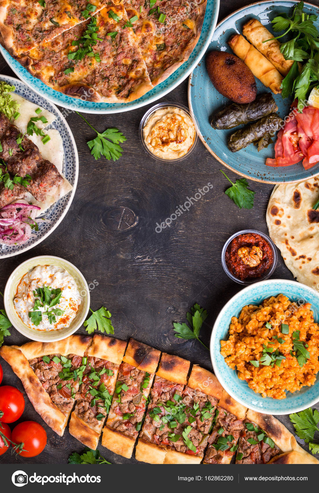 Traditional turkish dishes stock photo somegirl 162862280 traditional turkish dishes stock photo forumfinder Gallery